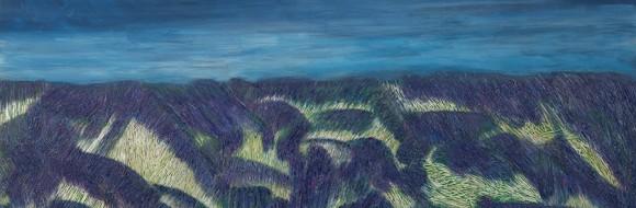 Lavendelfeld // 160 x 80 cm // 2013