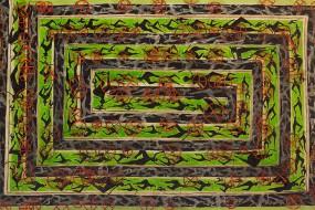 Mäander // 140 x 80 cm // 2013