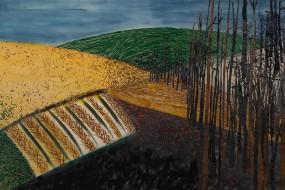 Landschaft // 140 x 80 cm