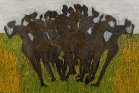 Erntetanz // 140 x 80 // 2012