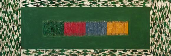 Farbfelder // 160 x 80 cm // 2011