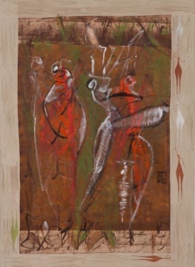 Ohne Titel // 100 x 60 cm // 2013