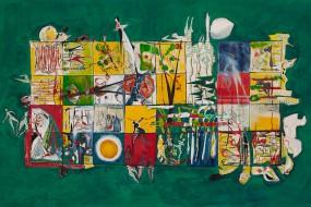 Ohne Titel // 160 x 100 cm // 2009