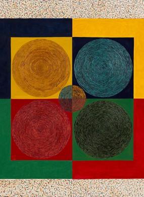 Ohne Titel // 160 x 160 cm // 2009