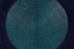 Blauer Planet // 160 x 160 cm // 2011